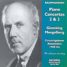 Willem Mengelberg - Piano Concertos 2 & 3 [New CD]