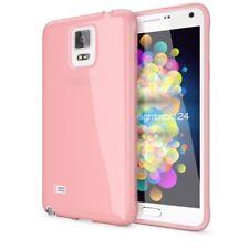 Samsung Galaxy Note 4 Hülle Handyhülle von NALIA, Slim Silikon Cover Jelly Case