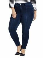 Melissa McCarthy Seven7 Pencil Ankle Jeans Womens Plus Sizes 14W 16W 18W 20W 22W