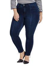 Melissa McCarthy Seven7 Pencil Ankle Jeans Womens Plus Sizes 14W 16W 18W 20W 22W