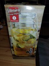New listing Home Essentials & Beyond Mason Jar Drink Beverage Dispenser