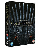 Game of Thrones: Season 8 [2019] DVD Emilia Clarke,Peter Dinklage.SENT SAME DAY!