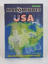 Mapominoes USA Geography Card Game by Wildcard Games Ages 8+