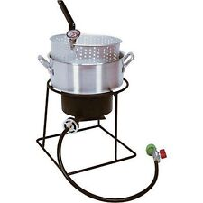 Propane Cooker with Fry Pan & Basket - 54,000 BTU - CSA Approved - Outdoor