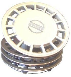 Wheel Covers 14 inch for Volvo 240 244 245 - Set of 4. Plastic . 14 inch only