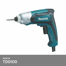 Makita TD0100 Compact Impact Driver Drill 230W 2 lbs 100Nm 220-240V 2.5M Corded