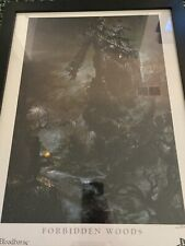 Bloodborne Forbidden Woods Lithograph Official Poster RARE From Software 006/300