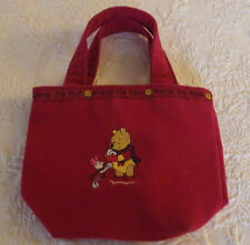 "Winnie the Pooh Small Pouch Purse Handbag Girls Woman 9"" x 7"""
