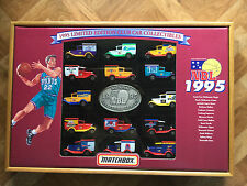 MATCHBOX 1995 LTD ED NBL CLUB BOXED SET 14 x MB38 IN DISPLAY CASE No. 512/2000