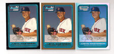 (3) 2006 BOWMAN DRAFT JUSTIN MASTERSON LOT-(3) DIFFERENT!!!!