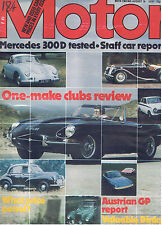 MOTOR Magazine - August 18 1979 - Test: Mercedes 300D