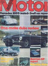 MOTOR Magazine - August 18 1979 - Test: Mercedes 300D