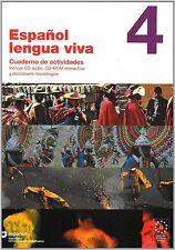 Espanol Lengua Viva: Cuaderno De Actividades + Cdr 4 (Spanish Edition)-ExLibrary
