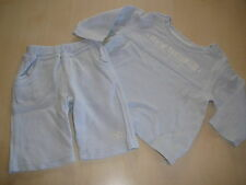 Feetje tolle Kombi Gr. 68 hellblau Langarm Shirt + Sweat Hose !!