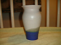 Vintage Mid Century Modern Vase Signed B Bobes-Smooth Texture-Clean Lines-LOOK