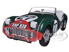 TRIUMPH TR3S 1959 LE MANS #27 1/18 DIECAST CAR MODEL BY KYOSHO 08033C