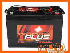 260AH (2X 130AH) PERFORMANCE+ DEEP CYCLE AGM BATTERY 12V - BOAT/CARAVAN/4WD/100