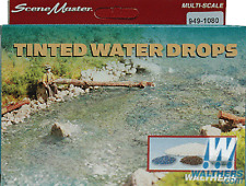 1080 Walthers SceneMaster TInted Water Drops, Easily model water, lakes, ponds
