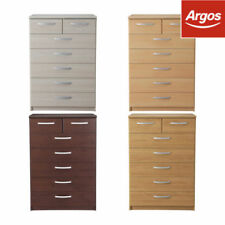 Argos Beech Contemporary Chests of Drawers