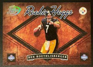 Ben Roethlisberger 2004 Playoff Hogg Heaven Rookie Hoggs RC Steelers /750