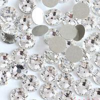 Shiny Austrian Crystal 3D Non HotFix FlatBack Nail Art Accessories Bag Clothing