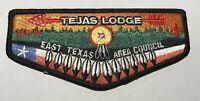 OA Lodge 72 Tejas Texas Flap  Mint Black BC1