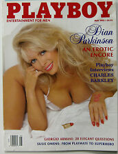 Playboy Magazine May 1993 Pamela Dickinson Charles Barkley Giorgio Armani