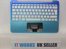 TESTED HP Stream 11-d Series Palmrest Top Cover & UK Keyboard - SEE PICS