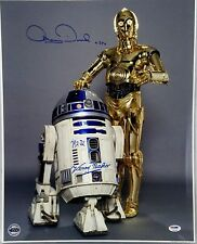 KENNY BAKER, ANTHONY DANIELS Signed 16X20 Star Wars OFFICIAL PIX PSA/DNA #T32739