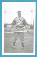 Leroy Anton (St. Paul) Vintage Baseball Postcard By George Brace