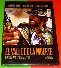 MANNAJA / EL VALLE DE LA MUERTE - Italiano Español DVD R ALL Precintada