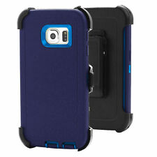 For Samsung Galaxy S7 Edge Defender Rugged Case Cover (Belt Clip fits Otterbox)
