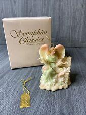 Seraphim Classics Angel Joy Gift Of Heaven Peace Figurine By Roman 81508