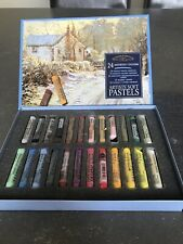 Winsor & Newton Artists' Soft Pastels - 24 Assorted Colours - Boxed