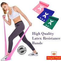 New Fitness Heavy Duty Resistance Bands Gym Exercise Latex Hip Circle Booty Band
