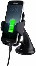 Boutique Qi Wireless Car Charging Charger Mount Phone Holder Samsung iPhone