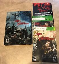 Dead Island Riptide leer Stahl Buch mit Handbuch Deluxe Edition Xbox 360