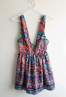 ShowPo - Size 8 - Surrender To The Night Dress Summer Party Geometric NEW