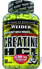 Weider Creatine HCL 150 Kapsel (13,87€/100g) Dose Kreatin Creatin !PREISHAMMER