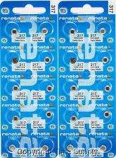 20 Pc 317 Renata Watch Batteries 317 SR516SW SR516  0% MERCURY