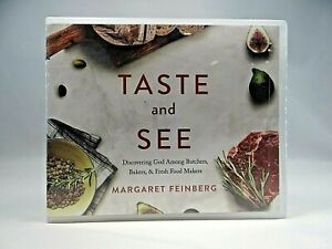 Taste and See : Discovering God by Margaret Feinberg (2019, 4-CD Unabridged )