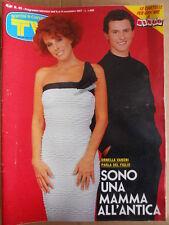 TV Sorrisi e Canzoni n°45 1987 Ornella Vanoni Alba Parietti Franco Oppini  [D41]