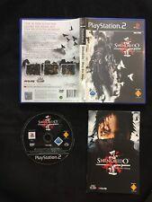 PS2 Shinobido Der Weg Des Ninjas OVP Sony Playstation 2 #PS2#00582