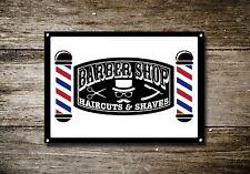Salon de coiffure signal métallique décoration Signe murale plaques 750