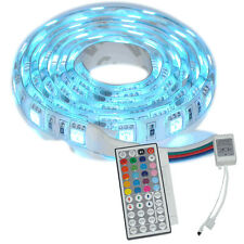1M 5050 SMD RGB Waterproof LED Strips Light 60led DC 12V + 44 Key Remote control