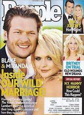 Blake Shelton & Miranda Lambert, Jonny Lee Miller - November 12, 2012 People