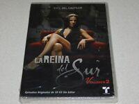 La Reina del Sur: Volumen 2 NEW Sealed DVD Episodes 32 - 63