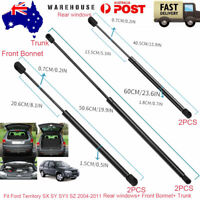 Rear Window Glass+Tailgates+Bonnets Gas Struts For Ford Territory 2004-2017 AU