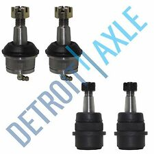 All (4) Front Upper & Lower Suspension Ball Joints Jeep Grand Cherokee Wrangler