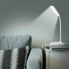 Dimmable LED Desk Light Table Bedside Reading Lamp Rechargeable USB Sensor K3V1